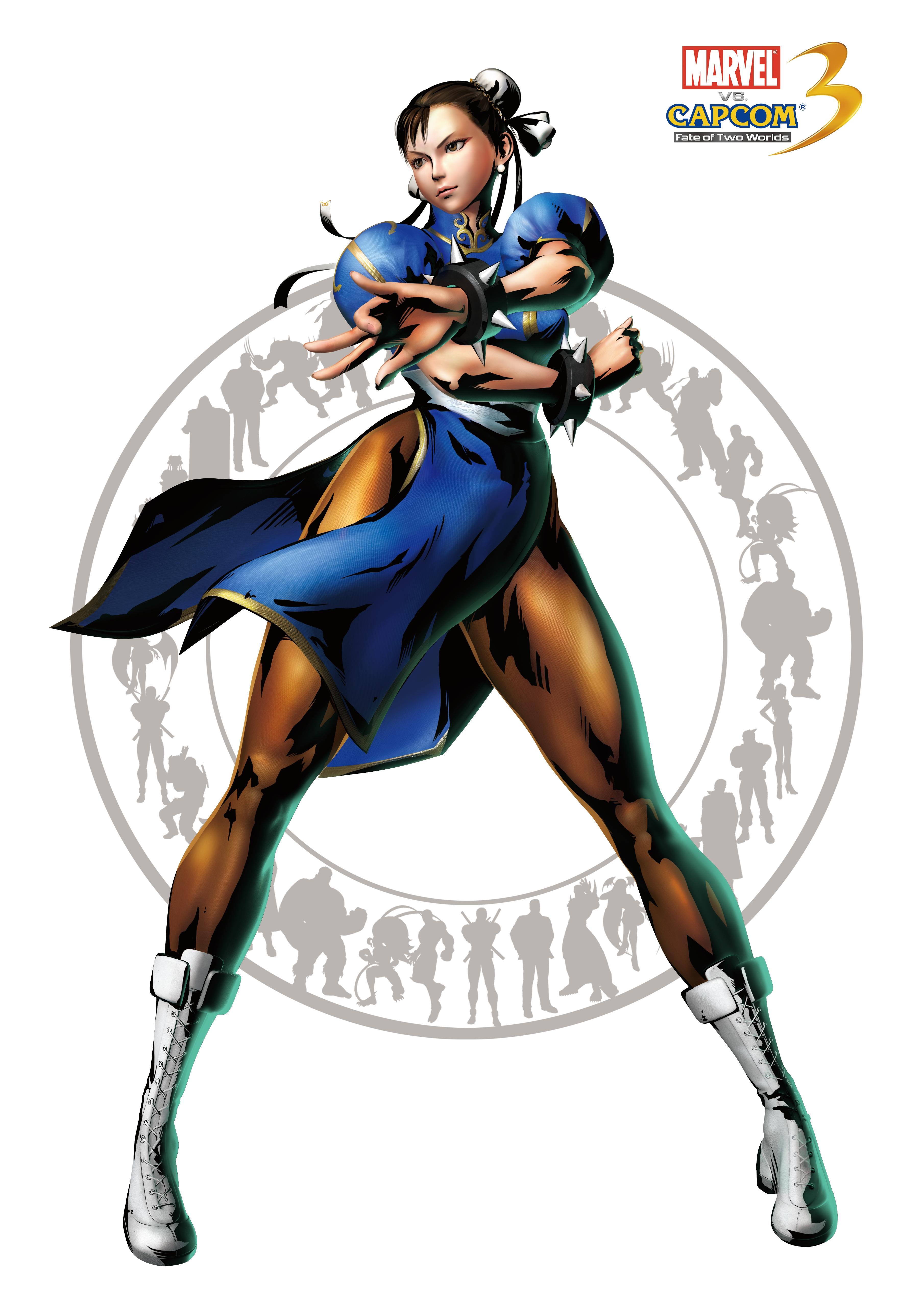 Capcom: Comic-Con Panel and New MvC3 characters (Chun-Li, Trish.