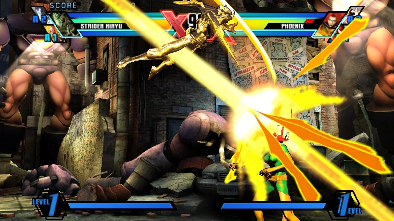 """""""Ultimate Marvel vs Capcom 3"""" [PS Vita] - Gold Herald Gameplay"""