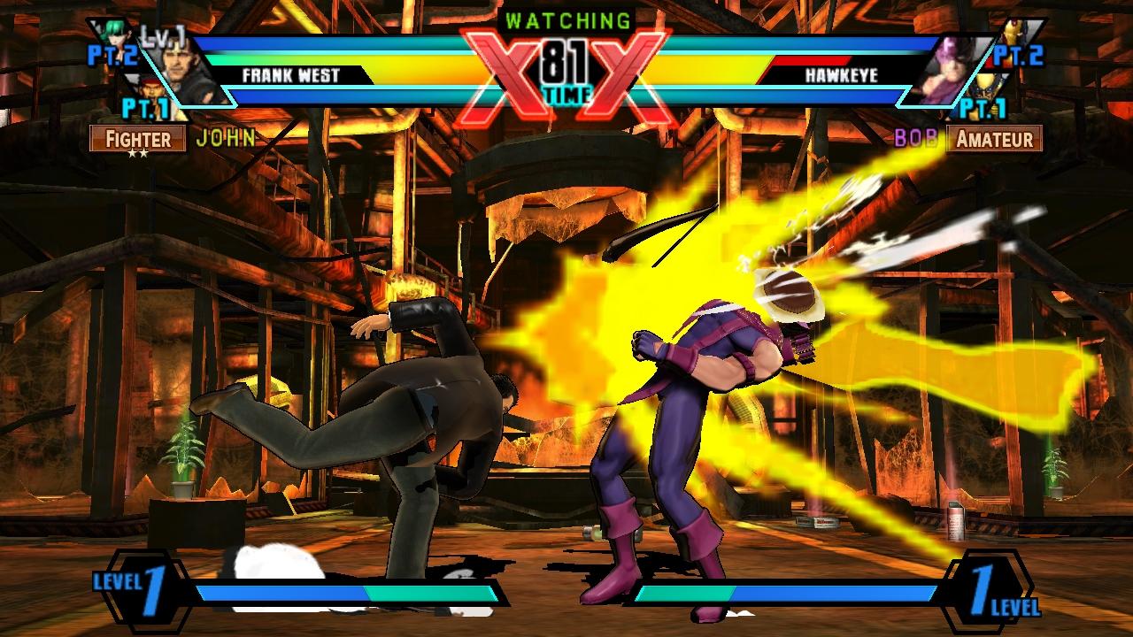 """""""Ultimate Marvel vs Capcpm 3"""" [PS Vita] - Spectator Mode Gameplay"""