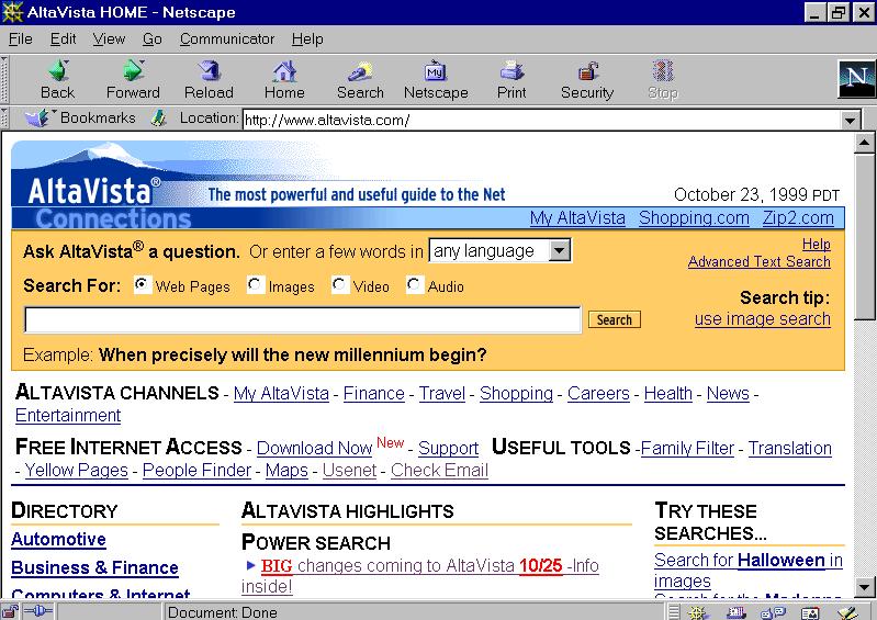 Altavista_in_1999