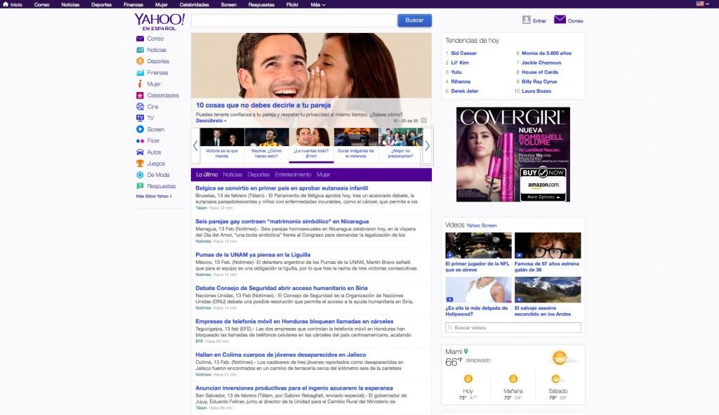 Yahoo! en Español - PC Version